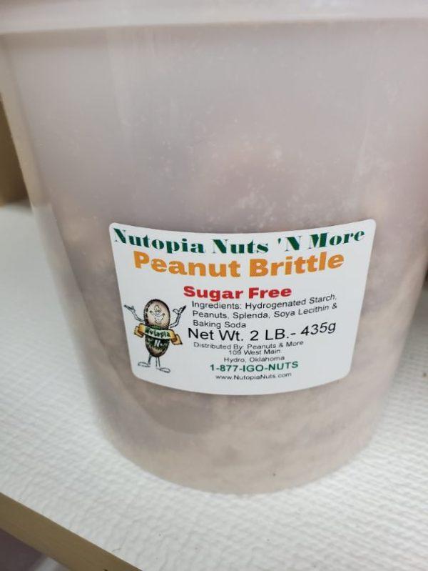 Sugar Free Peanut Brittle 2 lb
