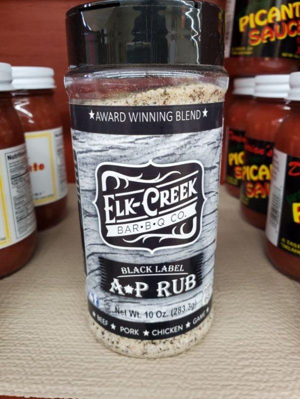 Elk Creek A*P Rub