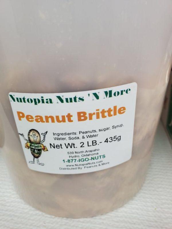 Peanut Brittle 2 lbs