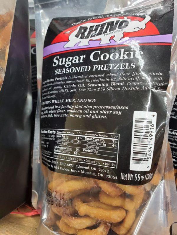Sugar Cookie Pretzels 5.5 oz