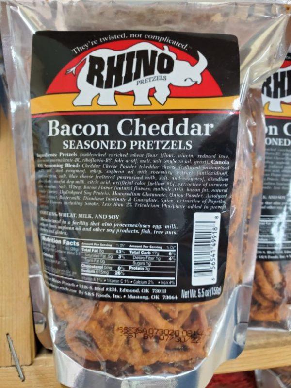 Bacon Cheddar Seasoned Pretzels